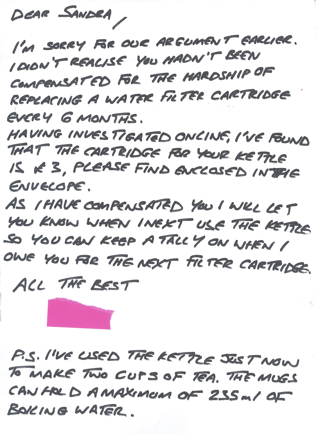 apology letter to for disrespect scott s letter on caning gets